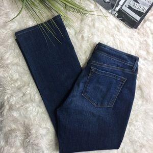 Ann Taylor Loft curvy high waist bootcut Jeans
